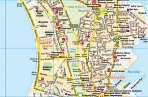 Mumbai-Várostérkép