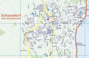 Schondorf-Várostérkép